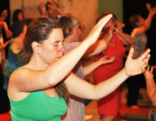 dru yoga oefeningen